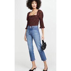 LEVI'S Wedgie Straight Jeans Jive Sound Size 25